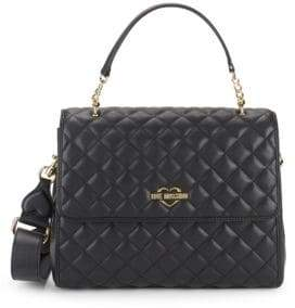 Love Moschino Diamond Quilted Satchel