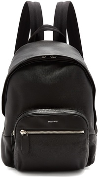 Neil Barrett Zip-around grained-leather backpack