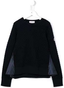 Moncler textured jumper