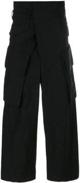 Julius oversized trousers