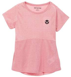 True Religion Glitter Stripe Tee (Big Girls)