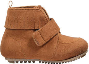 Joe Fresh Baby Girls' Fringe Fall Boots, Tan (Size 6)