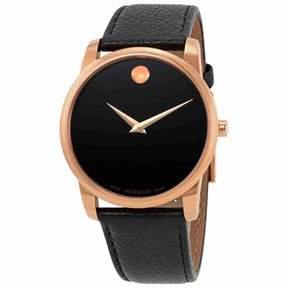 Movado Museum Black Dial Men's Watch 0607060