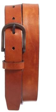 Bosca Men's Heavyweight Leather Belt