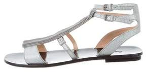 Calvin Klein Collection Metallic Gladiator Sandals