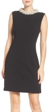 Betsey Johnson Women's Pearl Collar Dress
