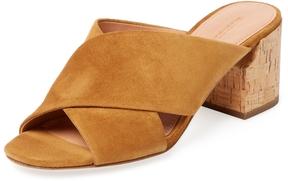 Sigerson Morrison Women's Rhoda Suede Crossover Sandal