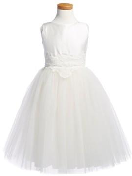 Isabel Garreton Toddler Girl's 'Enchanting' Sleeveless Taffeta Dress