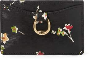 Ralph Lauren Floral Leather Card Case