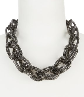 Anna & Ava Chain Statement Necklace