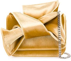 No21 bow shoulder bag