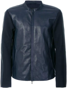 Emporio Armani slim-fit zipped jacket
