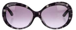 Emilio Pucci Patterned Round Sunglasses
