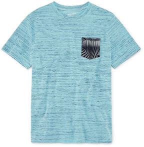 Arizona Short Sleeve Printed Pocket T-Shirt-Boys 4-20