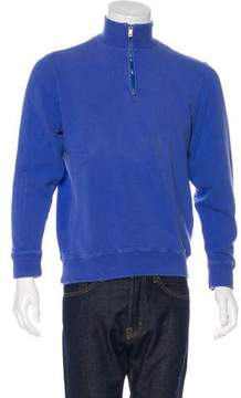 Ralph Lauren Purple Label Pullover Zip Sweatshirt