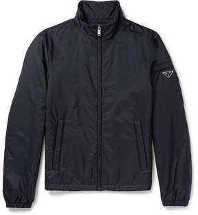 Prada Slim-Fit Padded Nylon Bomber Jacket
