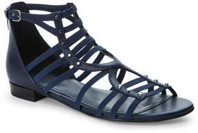 Marc Fisher Navy Partner Caged Flat Sandals