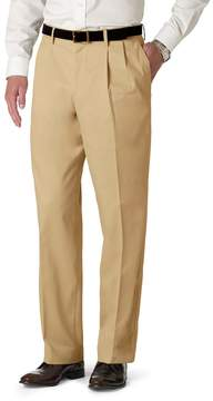 Dockers Men's Stretch Relaxed-Fit Iron-Free Khaki Pants - Pleated D4