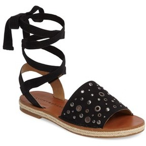Lucky Brand Women's Daytah Ankle Tie Sandal