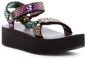 Teva Universal Flatform Iridescent Platform Sandal