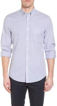 Nordstrom Tech-Smart Regular Fit Stripe Sport Shirt
