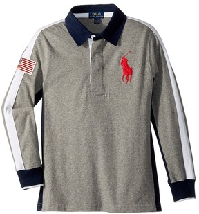 Polo Ralph Lauren Cotton Jersey Rugby Shirt Boy's Clothing