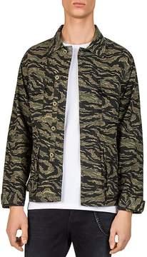 The Kooples Camo Shirt Jacket