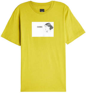 Oamc Woolf Cotton T-Shirt