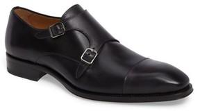 Mezlan Men's Cajal Double Monk Strap Cap Toe Shoe
