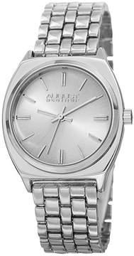 August Steiner Womens Silver Tone Strap Watch-As-8186ss