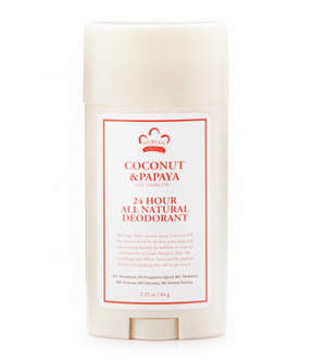 Nubian Heritage Coconut + Papaya 24hr Deodorant Stick by 2.25oz Deo Stick)
