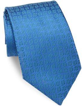 Charvet Solid Textured Silk Tie
