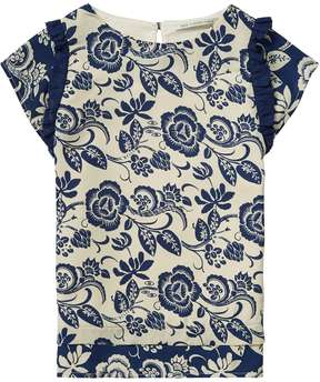 Scotch & Soda Top With Jersey Back