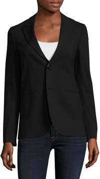 RED Valentino Women's Peak Lapel Welted Jacket