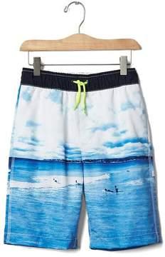 Gap Surf wave swim trunks