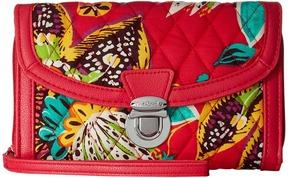 Vera Bradley Ultimate Wristlet Clutch Handbags - BLACK - STYLE