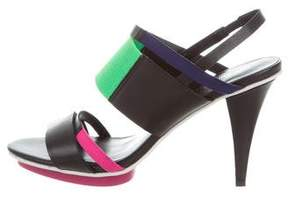 United Nude Slingback Multistrap Sandals