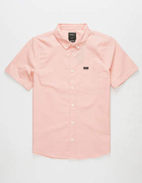 RVCA That'll Do Salmon Boys Shirt