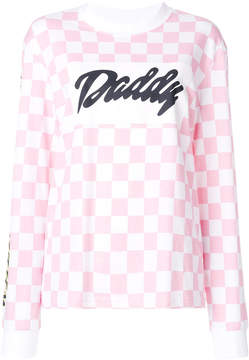 House of Holland checked and graphic print shirt