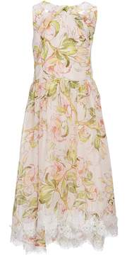 Us Angels Blush by Big Girls 7-16 Floral Chiffon Dress