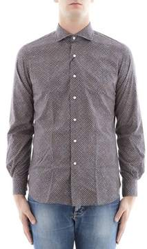 Orian Men's Multicolor Cotton Shirt.
