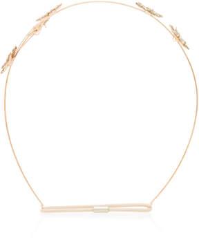 Jennifer Behr Venus Circlet Gold-Plated Headband