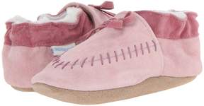 Robeez Cozy Moccasin Soft Soles Girls Shoes