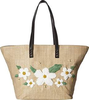 Betsey Johnson DAISY'D & Confused Flower Tote Shoulder Bag