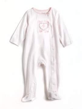 Little Me Newborn Girls Thank Heaven for Little Girls Cotton Footsies - Smart Value