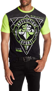 Affliction Geo Sport Graphic Print Short Sleeve Tee