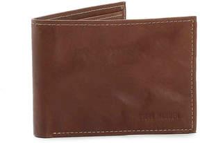 Steve Madden Men's Antique Passcase Leather Wallet