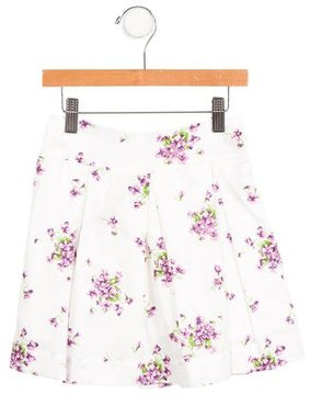 Rachel Riley Girls' Floral Print Skirt w/ Tags