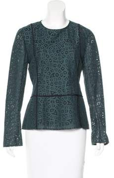 By Malene Birger Lace Long Sleeve Top w/ Tags