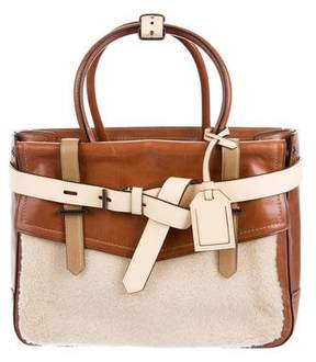 Reed Krakoff Shearling Boxer Bag